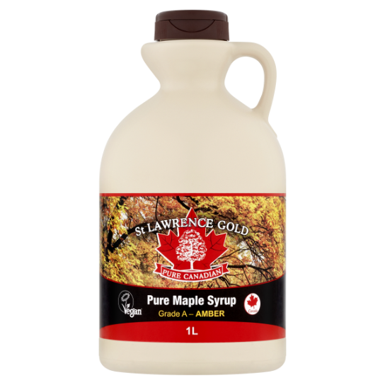 St Lawrence Gold Pure Maple Syrup Amber 1L