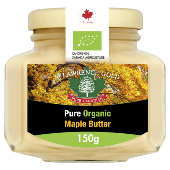 St Lawrence Gold Organic Maple Butter 150g