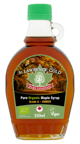 St Lawrence Gold Organic Amber 250ml